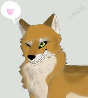 Cute She-wolf by BlastOfWinter