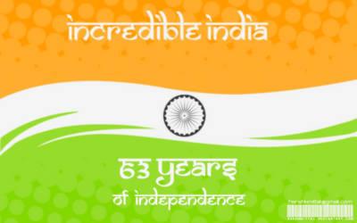 Incredible India Flag-Tiranga