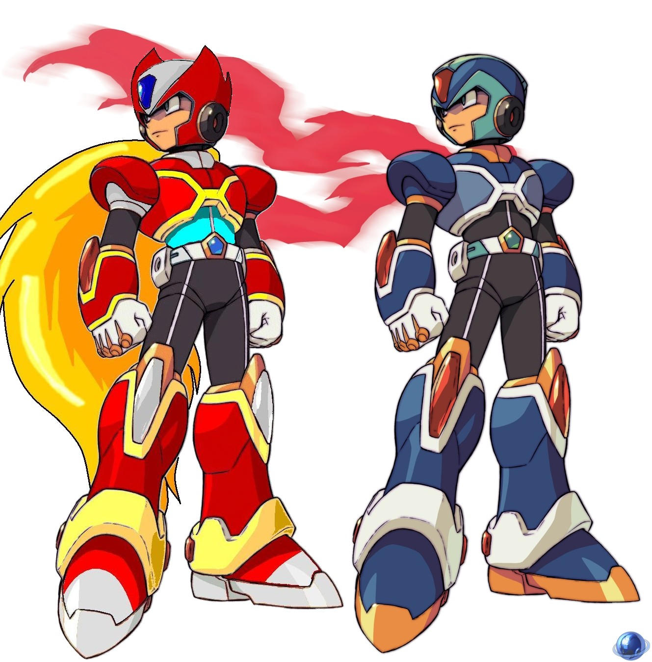 Mega Man X Command Mission by zero-club