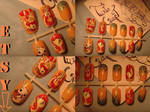 fluttershy nail art