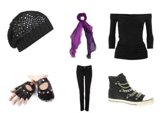 Reds Outfit [polyvore] by AskMickey1 on DeviantArt