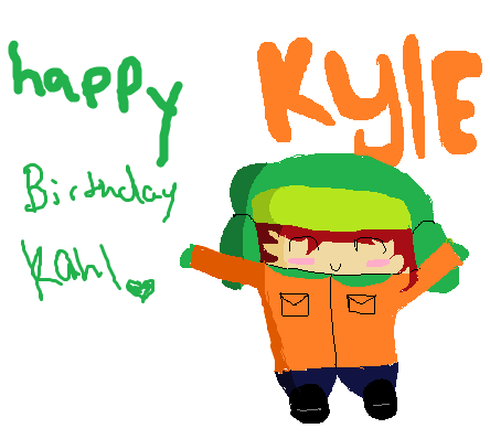 South Park Happy Birthday Kyle