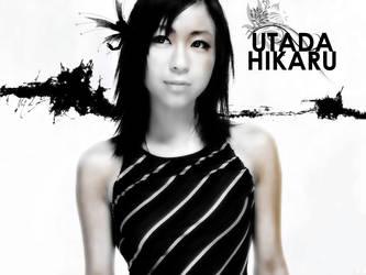 Utada Hikaru by Aesareth