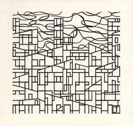 Metropoli Contemporanea - disegno in esecuzione 3^ by LittleLiuk