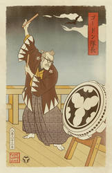 Sengoku Batman - Gordon Summons the Bat