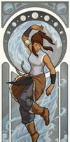 Avatar Korra - Art Nouveau Avatars