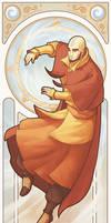 Avatar Aang - Art Nouveau Avatars