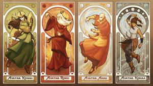 Art Nouveau Avatars - The Four Seasons (Reorder)