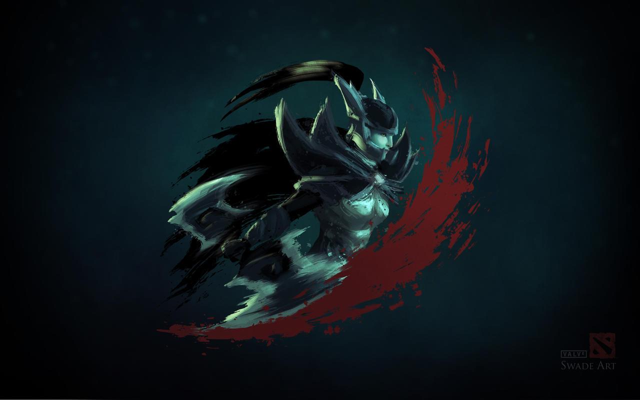 Dota 2 - Phantom Assassin Wallpaper by swadeart on DeviantArt