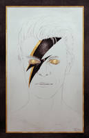 David Bowie Tribute by swadeart