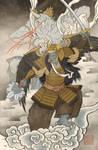 Ukiyo-e Goldar - MMPR Comic Variant Cover