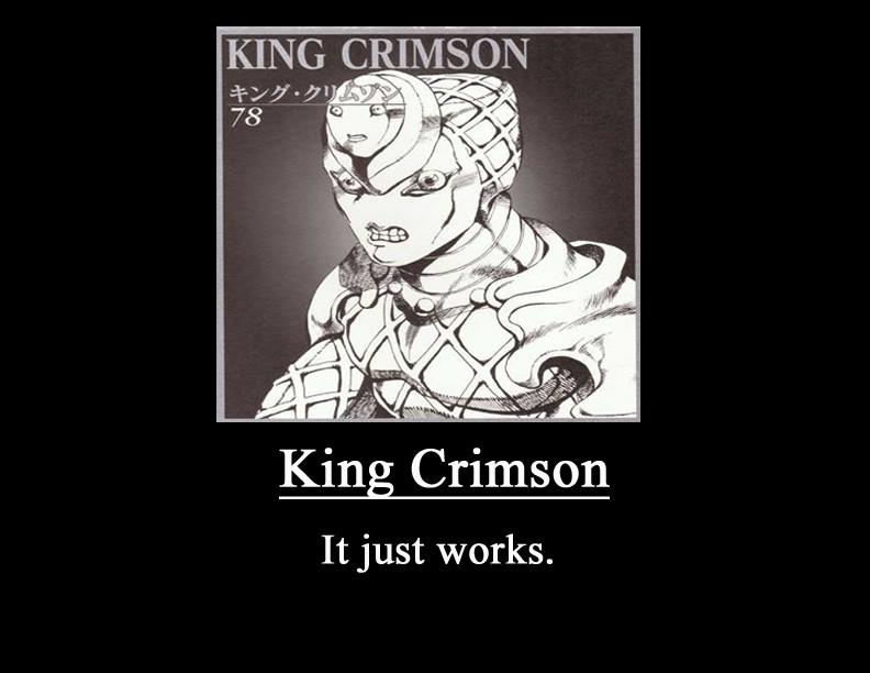 Aprovações de Técnicas - Página 2 King_crimson_meme_demot_by_metalshadowinsanity-d76v28j