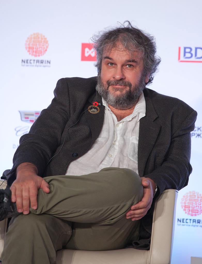 Peter Jackson in Skolkovo, Moscow by Hope72