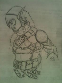 Elven Link sketch