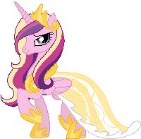 Princess Cadence Sprite by Xeerax