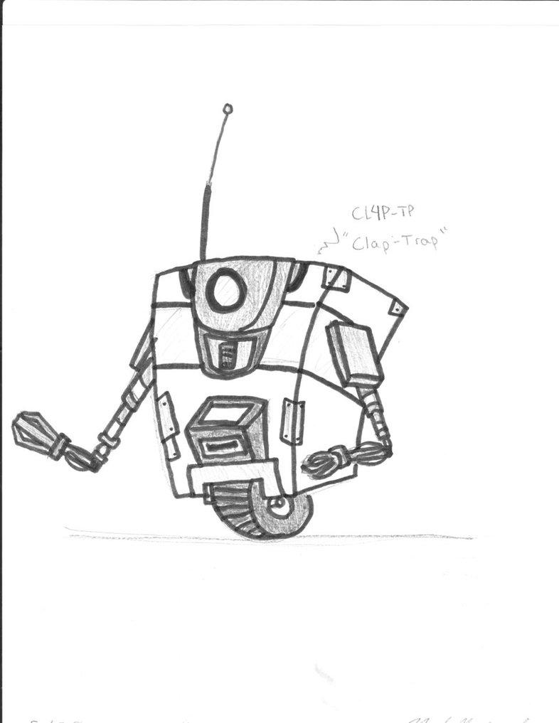 ''When I Was 'deidarasempai123' - CLAPTRAP'' by ENDYS-ART-HELL