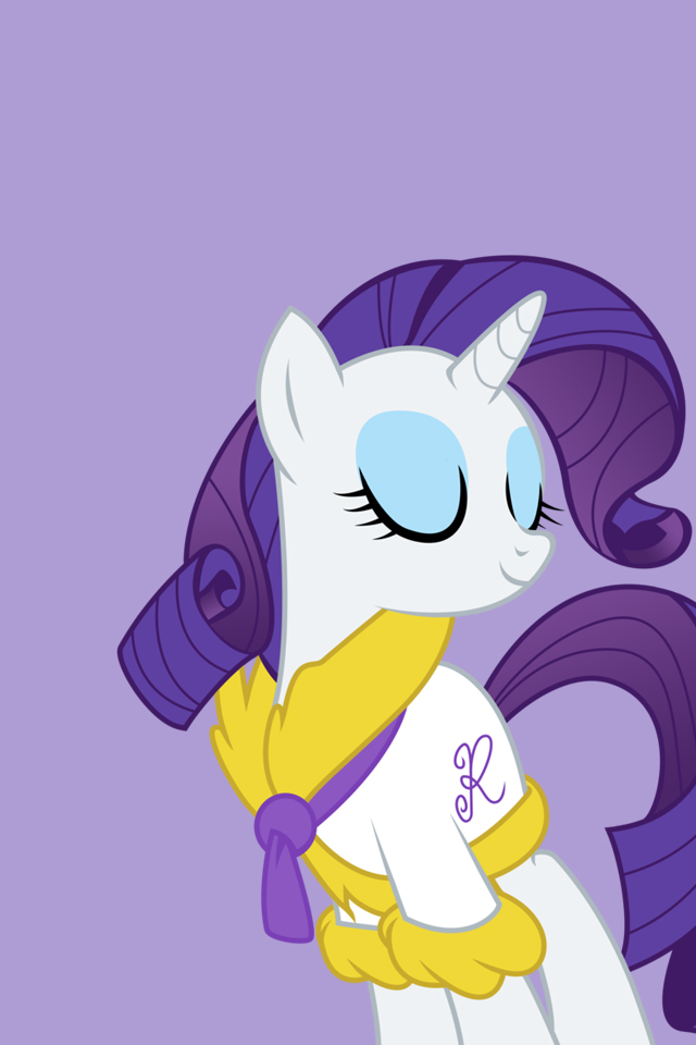 My Little Pony - iPhone Wallpapers - Rarity by doctorpantsRarity Wallpaper Iphone