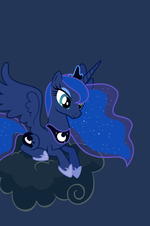 my little pony iphone wallpapers luna by doctorpants