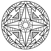 mandala abstract 1