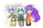 LoL - Poppy+Tristana+Lulu