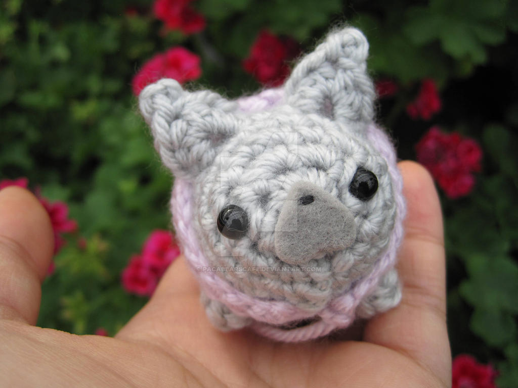 French Bulldog w/Handkerchief Amigurumi by PacaBearsCafe