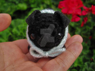 Crochet Baby Pug Amigurumi - ilove-crochet | 250x333