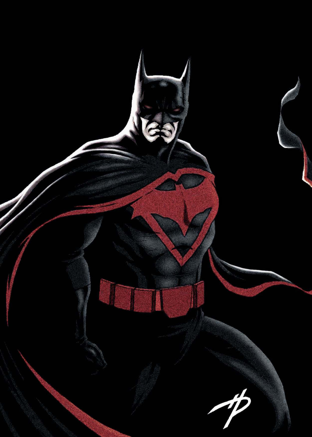 Batman Earth Two in Color by Hal-2012