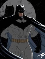Batman's New Costume by Hal-2012