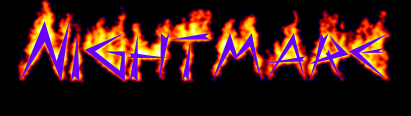 OC Nightmare Logo by mamafucker123