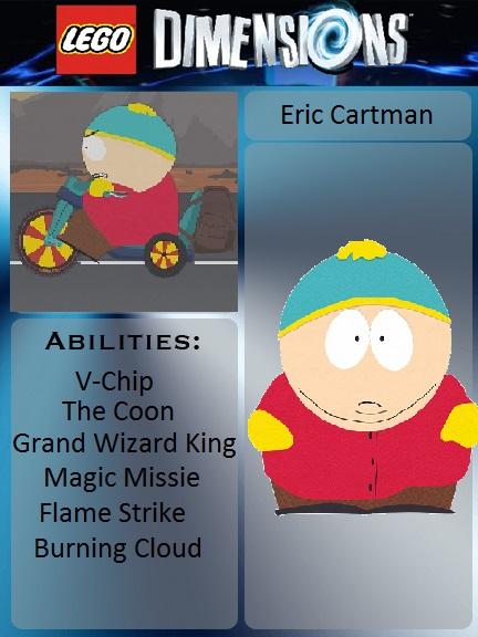 Lego Dimensions: Eric Cartman by lh1200 on DeviantArt