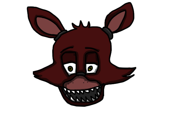 Foxy-Five Nights At Freddy's [head Only] By Candy70045 On
