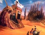 Snail Town on Mars