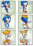 Sonic into Tails