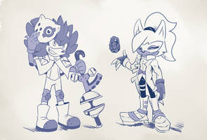 Whisper And Andrew Outfit Swap