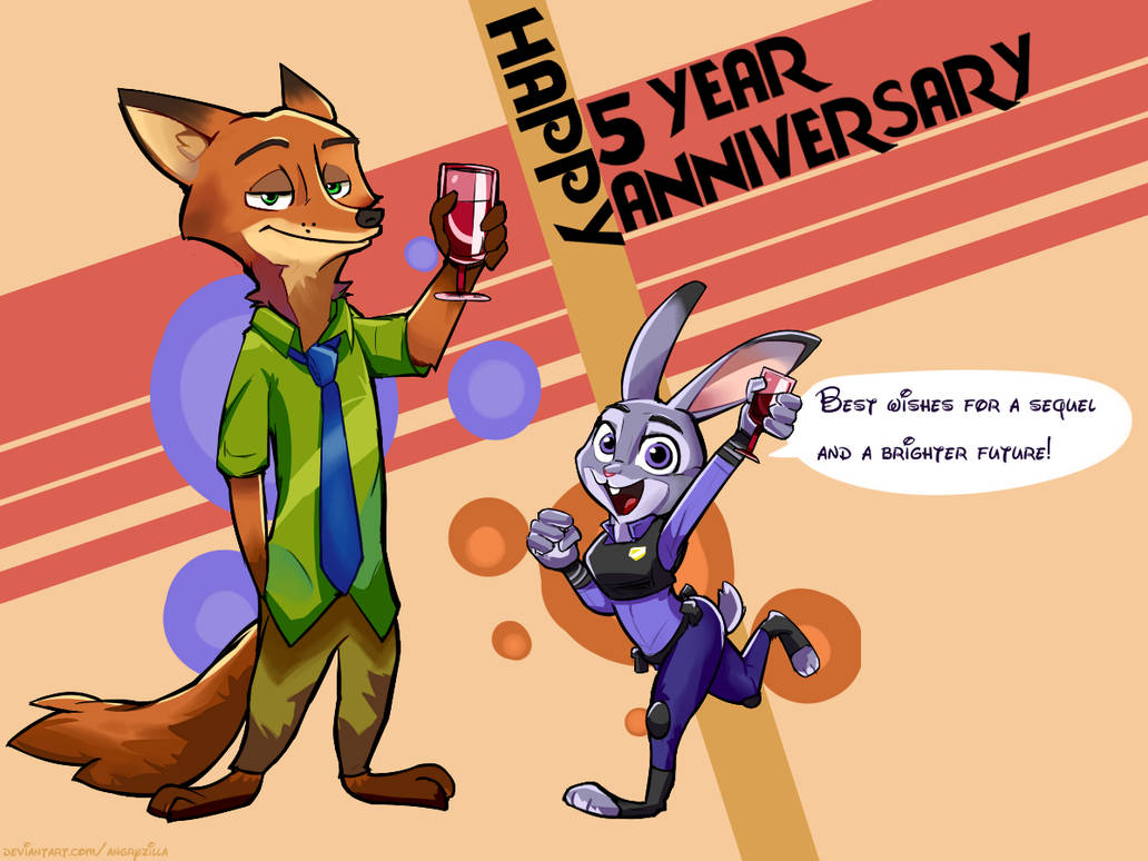 Nick and Judy 5TH Anniversary