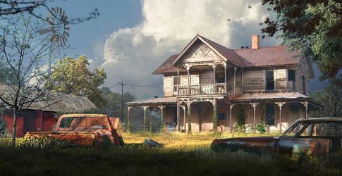 old farm scene 1