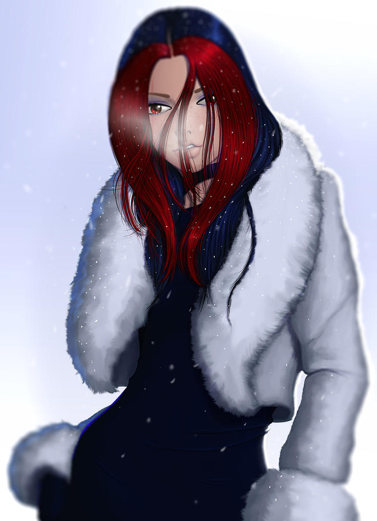 Snowing by richten