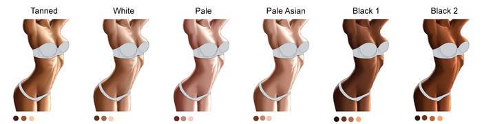 Skin colour tutorial by richten