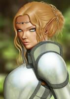 Allyanna portrait by richten