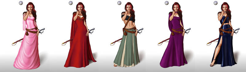 Ariel new outfits 02