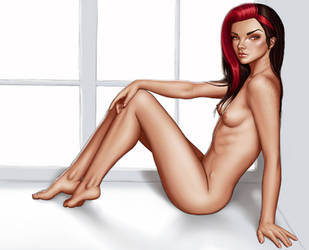 Ariel boudoir shot nude by richten