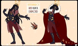 SU   Kintsukuroi Red-Black Diamond