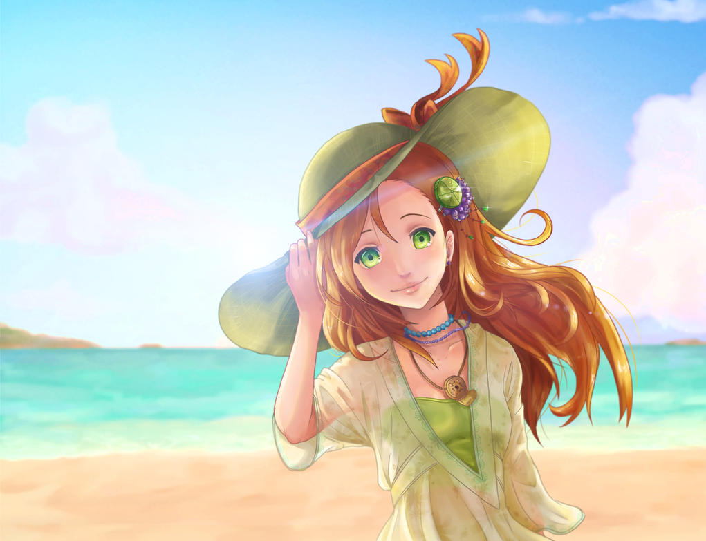 Beach Girl by NarutoLover6219