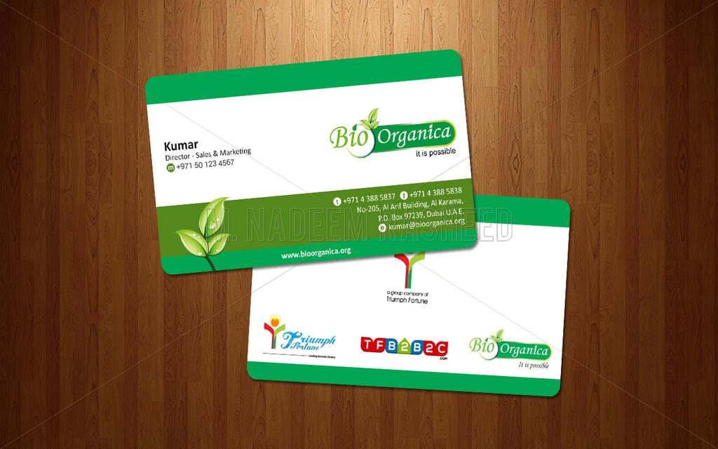 Bio organica business card design by nadeemrasheed on deviantart bio organica business card design by nadeemrasheed reheart Choice Image