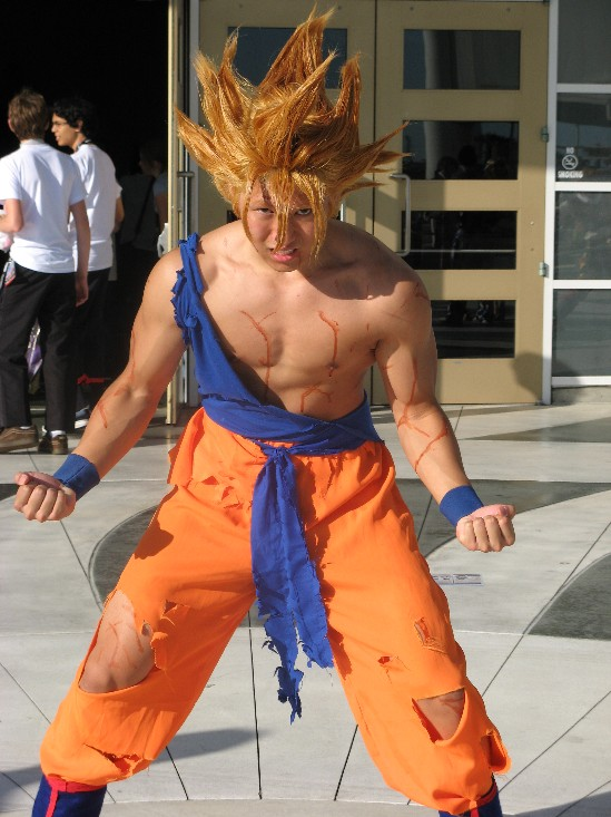 Super Saiyan Son Goku by son-goku808 on DeviantArt