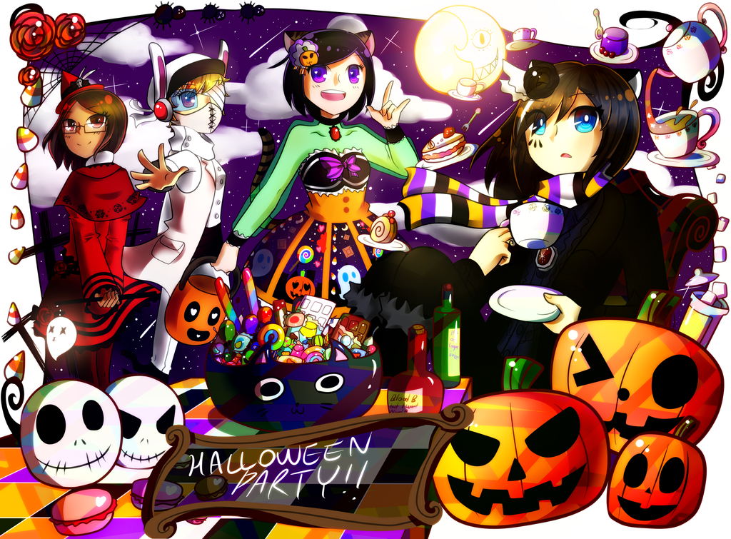 Halloween Party 2013 by Spade-N