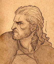 Geralt by Jessewhitmoreart