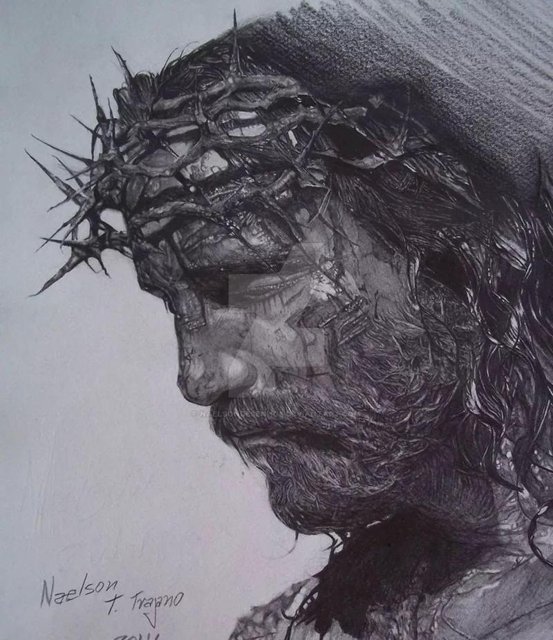jesus Cristo. por naelson. by Naelsondesenhos