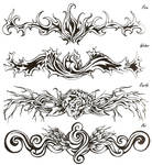 Elemental Tattoos