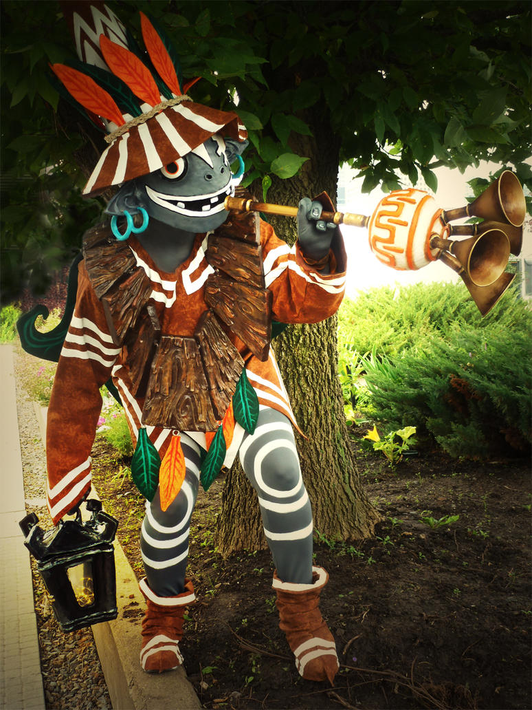 Skull Kid Cosplay by shinigami714